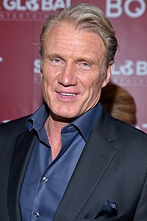 Dolph Lundgren Swedish actor and martial artist