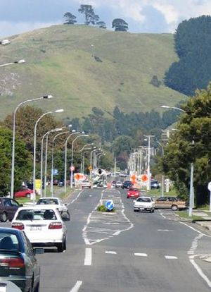 Papamoa - Image: Domain Road 1