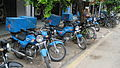 Domino's delivery motorcycles in Noida.jpg