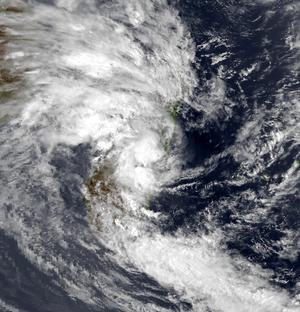 Tropical Storm Domoina - Domoina weakening over Madagascar