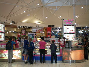 Retail Food Group - A Donut King store in a shopping centre in Doncaster East, Victoria