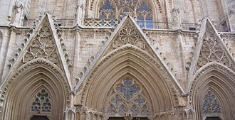 Rayonnant - Saint Nicholas's Cathedral, Famagusta