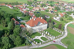 Dornava Manor from the air.jpg