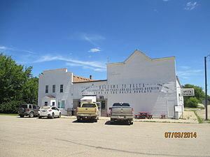 Balta, North Dakota - Image: Downtown Balta, North Dakota