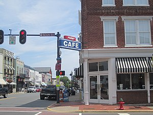Culpeper, Virginia - Downtown Culpeper
