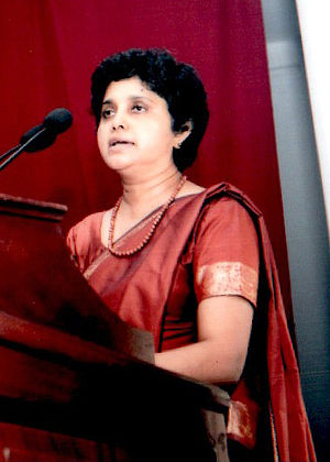 SOAS School of Law - Shirani Bandaranayake: 43rd Chief Justice of the Sri Lankan Supreme Court