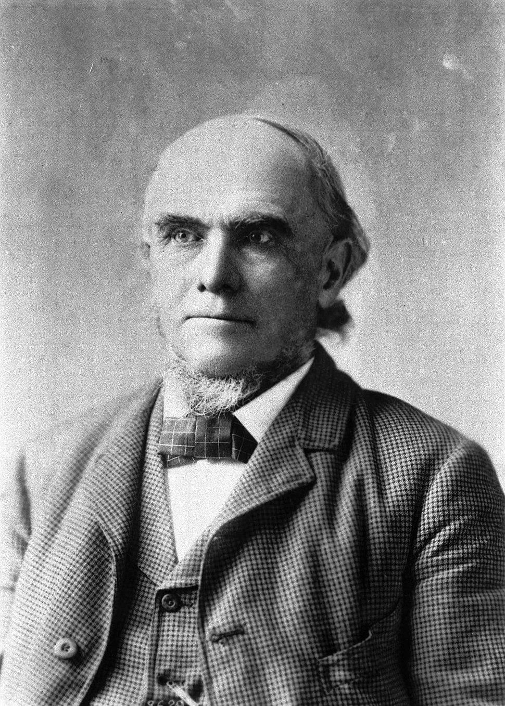 Dr David S Burbank portrait