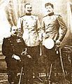 Dragutin Dimitrijević Apis, Dušan Glišić and Antonije Antić.jpg