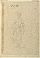 Drawing, Project for a Ballet Costume of an Oriental Jester, ca. 1720 (CH 18565431).jpg
