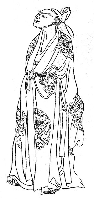Li He - Image: Drawing of the Chinese poet Li He