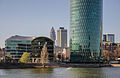 Dresdner Bank Tower with river Main - Frankfurt - Germany - 02.jpg