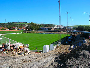 The Dripping Pan - Redevelopment work under way at the Dripping Pan