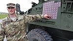 """Drone counter """"victory tally"""" representing a total number of target drones downed by this MEHEL-equipped Stryker.jpg"""