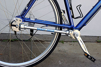 A bicycle with shaft drive instead of a chain Dsb-1.jpg