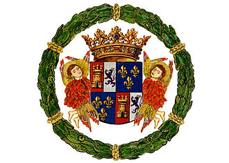 Duke of Medinaceli - The heraldic achievement of the   Ducal House of Medinaceli