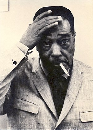 Duke Ellington during concert break at Jahrhun...