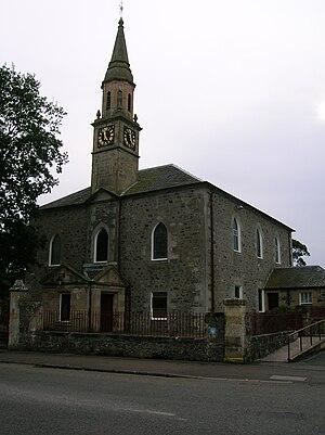 Dundonald, South Ayrshire - Dundonald Parish Church.