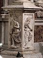 Duomo di genova, cappella di s. giovanni battista, baldacchino di g.g. della porta, guglielmo e nicolò corte, 1532-41, 03.JPG