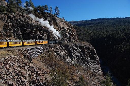 Durango-Silverton Highline 2012-10-25