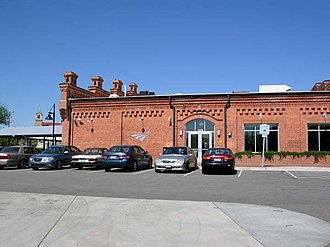 Durham station (North Carolina) - Image: Durham Amtrak Station
