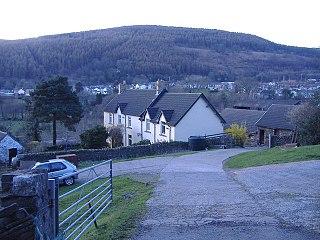 Llanbradach Human settlement in Wales