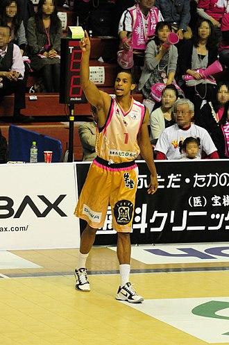 E. J. Drayton - Drayton at Akita Municipal Gymnasium