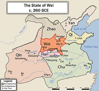Wei (state) ancient Chinese state during the Warring States period