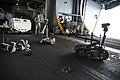 EODMU-5 conducts bomb disposal robot training. (14305376084).jpg