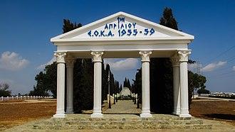 Avgorou - EOKA Struggle (1955-1959) monument in Avgorou