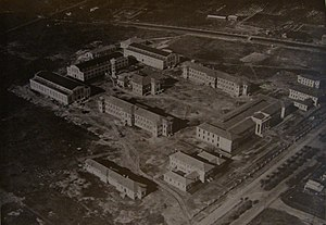 Navy Petty-Officers School of Mechanics - Under construction in 1928.
