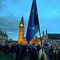 EU Flag at the Stop Trump Rally (32205545383).jpg