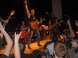 Gli Eagles of Death Metal ad Atlanta nel 2006
