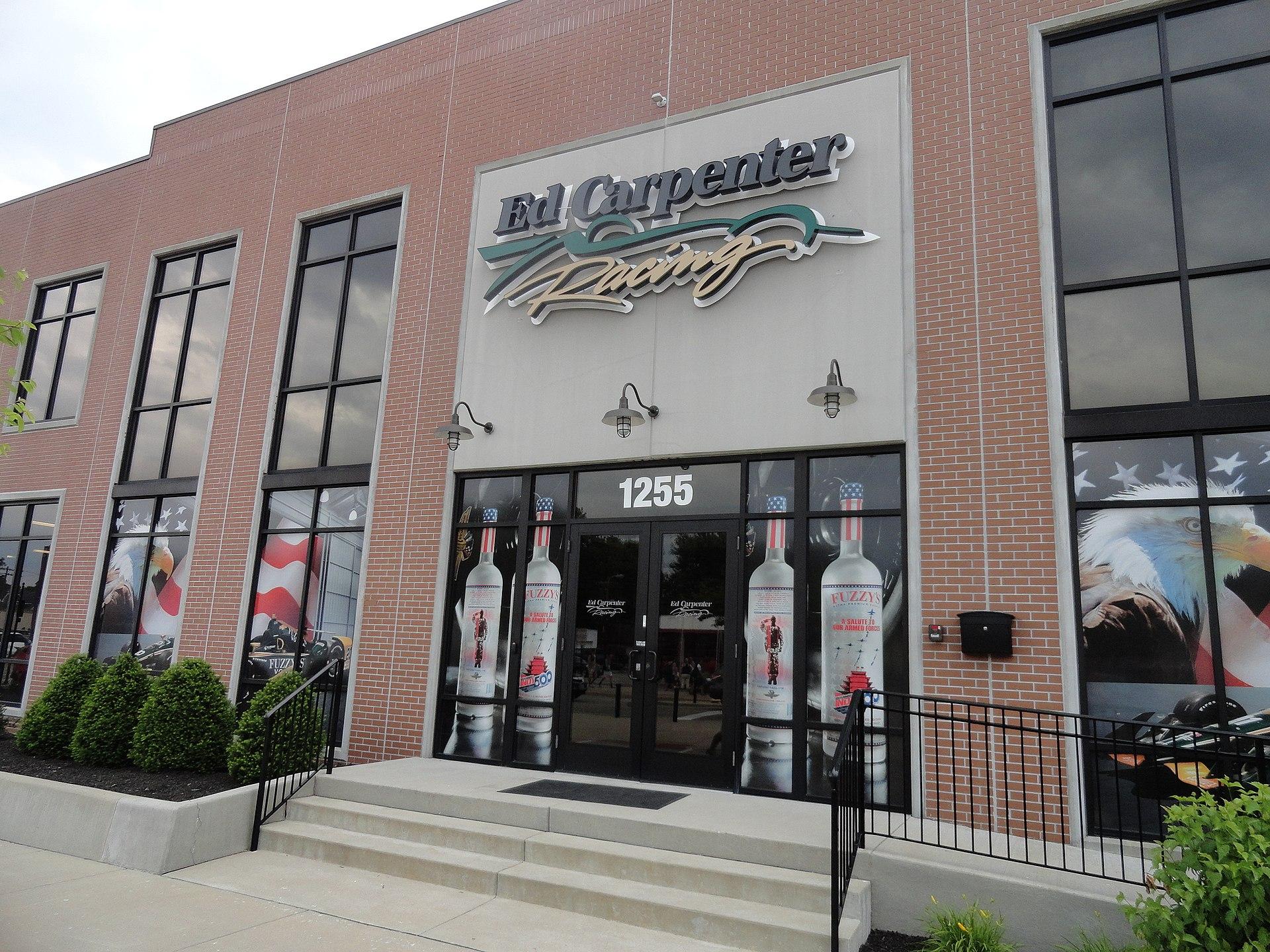 Het hoofdkwartier van Ed Carpenter Racing in Indianapolis.