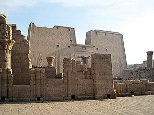 Tempel von Edfu, Ägypten