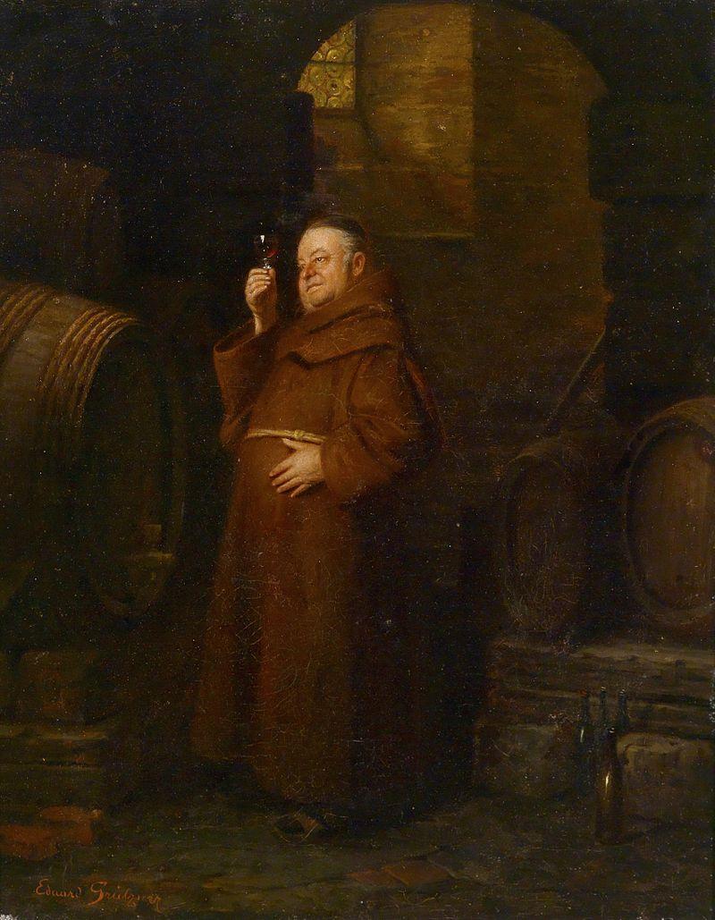 Eduard Grützner Mönch bei der Weinprobe.jpg