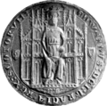 Edward Balliol, King of Scotland seal.png