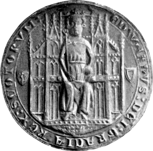 Edward Balliol - Seal of Edward Balliol, King of Scotland