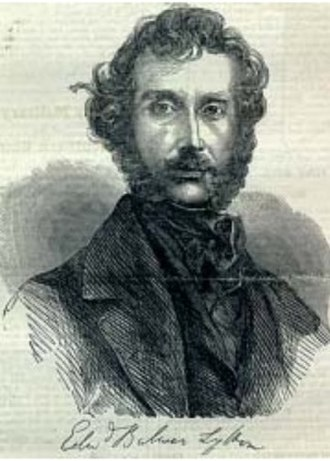 Edward Bulwer-Lytton - Edward Bulwer-Lytton. His Harold, the Last of the Saxons (1848) was the source for Verdi's opera Aroldo.