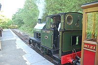 Edward Thomas waits to leave for Nant Gwernol. - geograph.org.uk - 801265.jpg