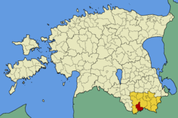 Varstu Parish within Võru County.