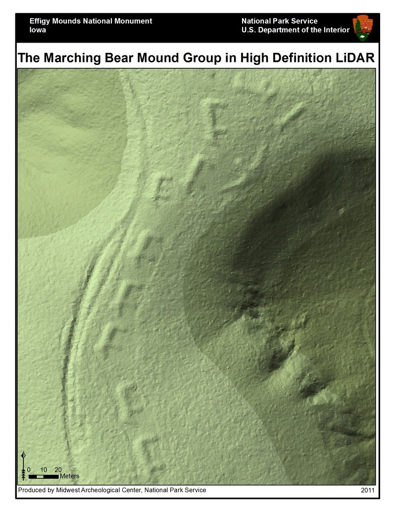 Effigy mounds lidar