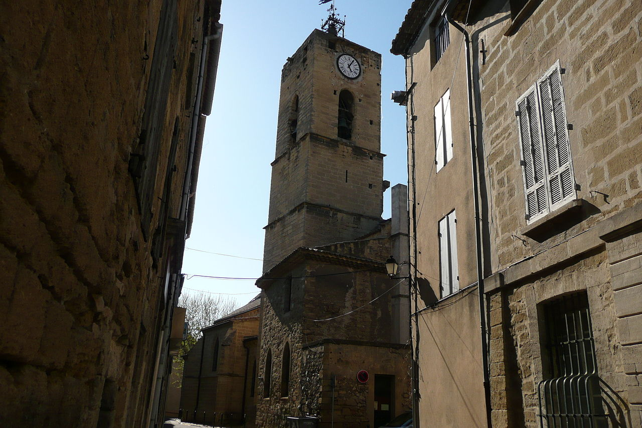 The church of Roquemaure