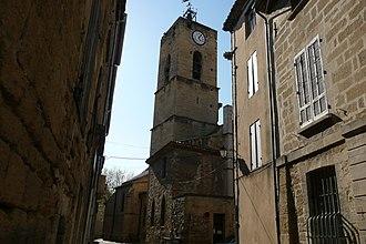 Roquemaure, Gard - The church of Roquemaure