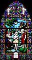 Eglise Saint Pierre de Corseul, Côtes d'Armor, France, baie 2, Baptême du Christ, 5793 rectifiée.jpg
