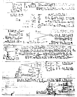 Alexander Henry Rhind - The Rhind Papyrus