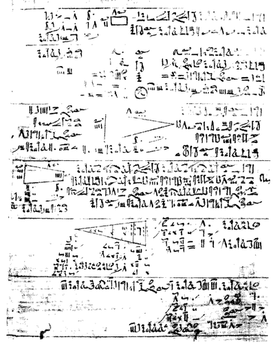 egyptian algebra