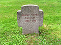 Ehrenfriedhof Elberfeld Grabstein Gustav Marks Kanonier.jpg