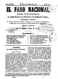 El Faro Nacional, número 61, 5 de enero de 1852.jpg