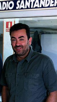El escritor Javier Menéndez Llamazares.JPG