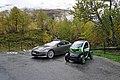 Electric cars Flydalsjuvet Geirangerfjord 10 2018 3155.jpg